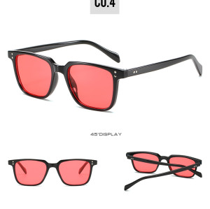 2020 Fashion Womens Mens Classic Vintage Retro Square Trend Sunglasses