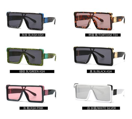 Ins Newest Big Frame Women Men Sunglasses Oversized Wholesale Shades Sunglasses
