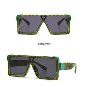 Ins Newest Big Frame Women Men Sunglasses Oversized Wholesale Shades Sunglasses