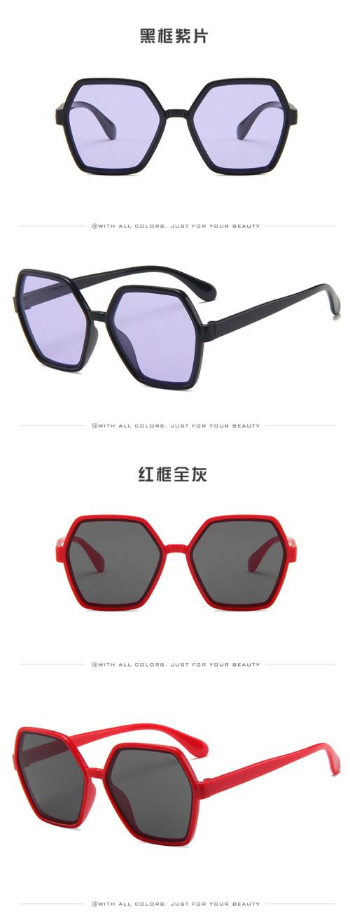 2020 wholesale low price hexagon hight quality trending kids sunglasses