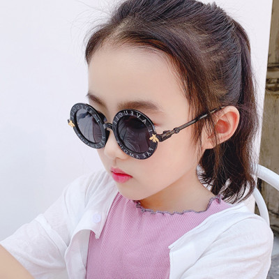 fashionable custom selection high quality circle round kids sunglasses