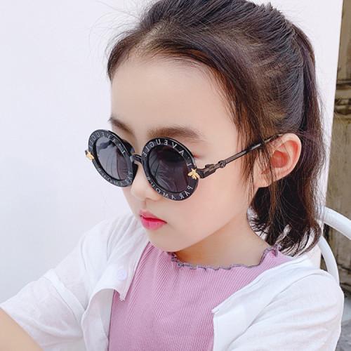 fashionable custom selection high quality circle round kids sunglasses