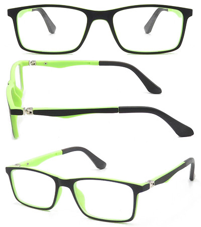 New arrival kids TR90  optical frame with 180 degree spring hinge