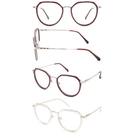 Fashion Acetate Injection  hot selling  gllasses with metal temple