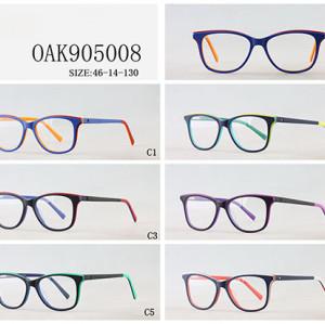 New model Kids acetate optical frame glasses