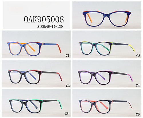 New model Kids acetate optical frame glasses