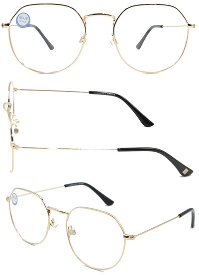 ROund shape adult metal optical frame with high quality