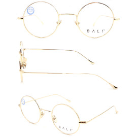 ROund shape adult metal gold  optical frame with high quality