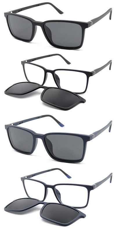 Light weight Clip on optical frame with polarized lens