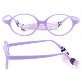 2020 Kids Eyewear One-Piece tr90 Flexible Bendable Safe ECO friendly kids eyeglass frames optical