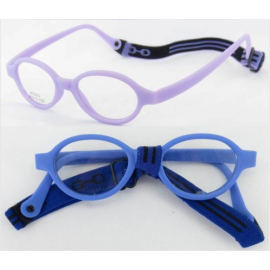Soft No Screw Bendable Children Sports Tr90&silicone Safe Flexible Glasses Frame