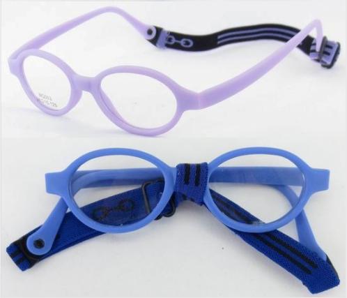 Soft No Screw Bendable Children Sports Tr90&silicone Safe Flexible Optical Frames