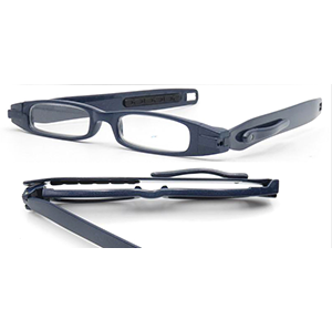 360 Degree Compact Portable Vision Slim TR90 Stock Wholesale ce Reading Glasses Women