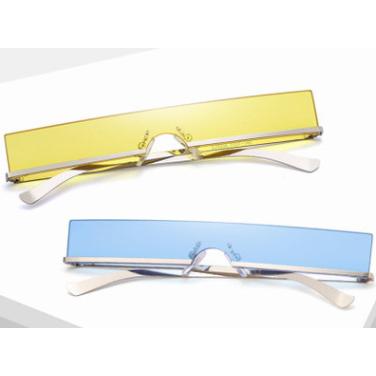 2020 Newest Fashionable UV400 Metal Retro Small Trendy Womens Sunglasses