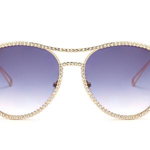 2020 Rhinestone Glasses Luxury Sunglasses Women