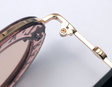 2020 Newest Fashion Round Unisex Luxury Brand Designer Women Bee Oval Sunglasses
