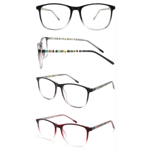 Wholesale 2021 New Model Pattern Printing Adult CP Optical Frame with Metal Spring Hinge