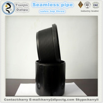 steel casting used plastic tube with hdpe pipe end cap