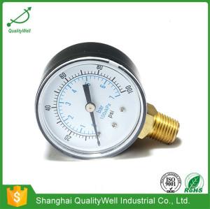Bottom connection general pressure gauge EPG221V