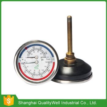 Tridicator-boiler gauge WHT-6