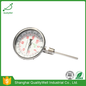 Chemical industry bimetal thermometer