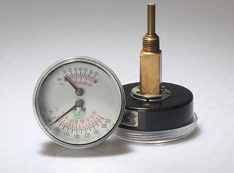 Tridicators-boiler gauge WHT-2B