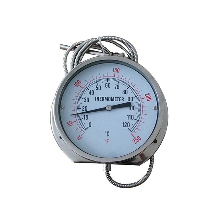 150mm remote reading thermometer with top flange 400RF21022F