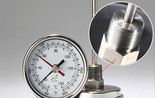 Bimetal dial thermometer