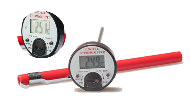 Back connection digital thermometer DGTT series