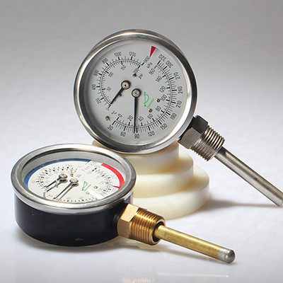 Bottom Temperature-pressure gauge