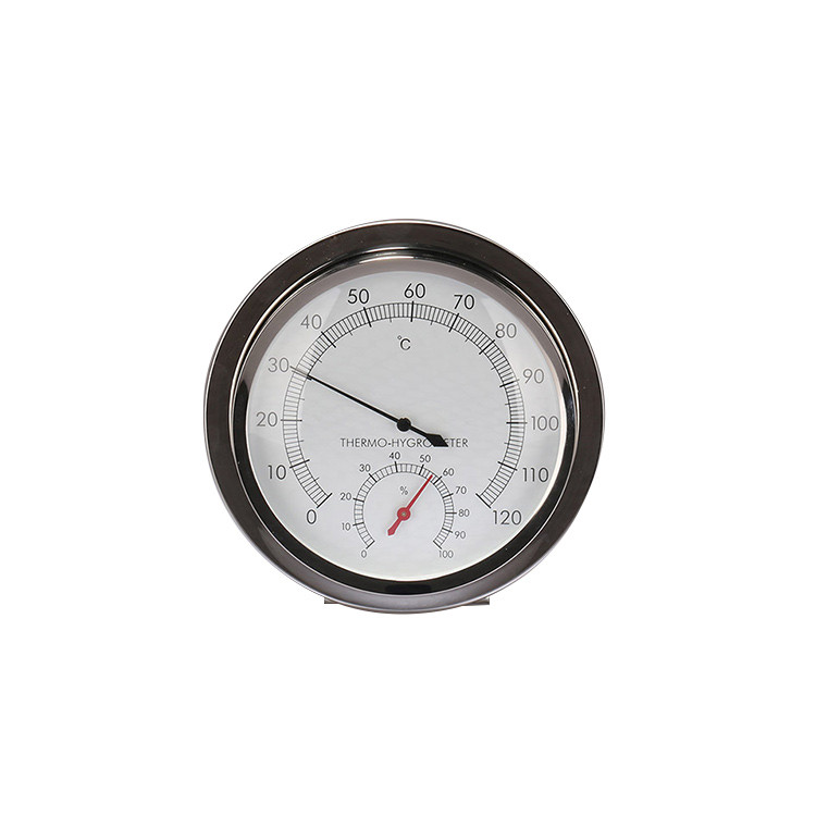 Stainless steel hygrometer and thermometer  TH600