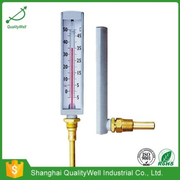 Industrial hot water glass thermometer HWGT