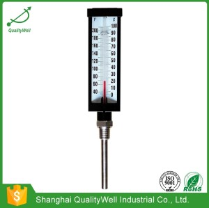 Industrial straight glass thermometer AGT-B