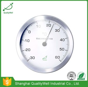 "12""wall mounted thermometer W12"