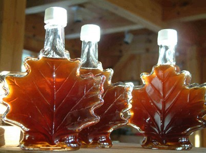 The use of a bimetallic thermometer in the making of maple syrup