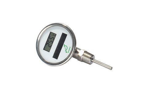 Bottom connection solar digital thermometer DSTT series