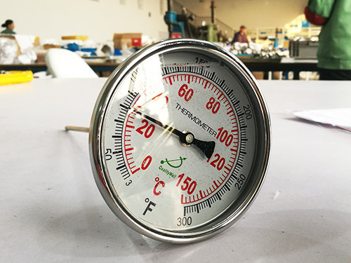 Inspection years and process of bimetallic thermometer