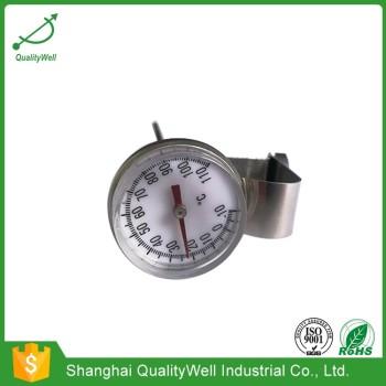 Magnifying lens pocket bimetal thermometer PT1005M
