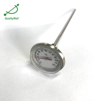 pocket bimetal thermometer for liquid PT1835C