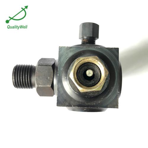 Transmitting valve for pressure gauge