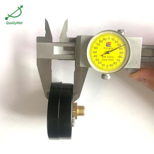 Back connection air compressor pressure gauge EPG200L