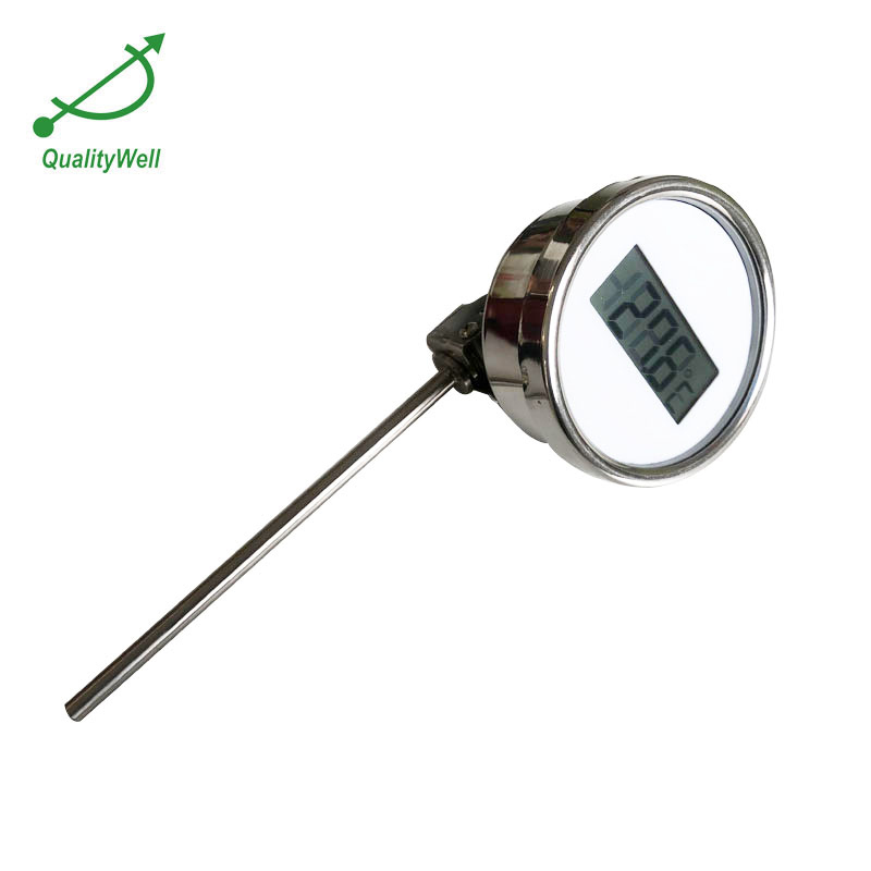 Bottom connection digital thermometer DGTT series