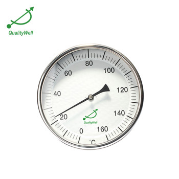 Back connection bimetal thermometer T series