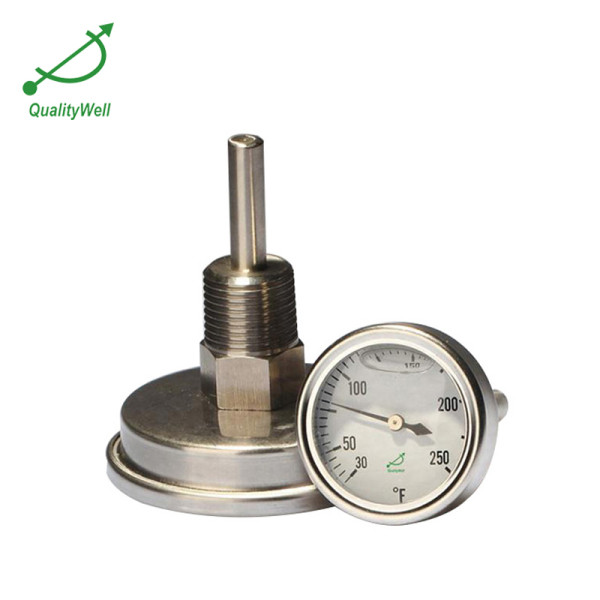 Oil filled bimetal thermometer LFPT series