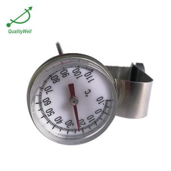 Magnifying lens pocket bimetal thermometer PT1815