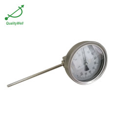 Detachable bezel european type bimetal thermometer A series