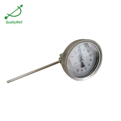 Detachable bezel european type bimetal thermometer A series