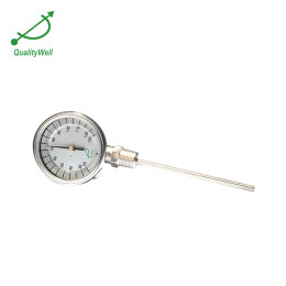 Bottom connection bimetal thermometer I series I300C