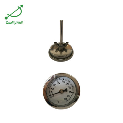 Oven bimetal thermometer with wing nut T221W series
