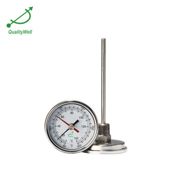 Back connection bimetal thermometer T series T300MAX